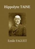 Emile Faguet: Hippolyte Taine