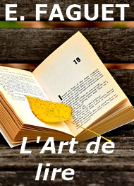 Illustration: L'Art de lire (version2) - Emile Faguet