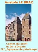 Anatole Le Braz: Contes du soleil et de la brume, III