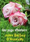 Jules Barbey d aurevilly: Une page d'histoire