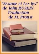 John Ruskin: Sésame et les Lys, Traduction de Marcel Proust
