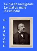 Gustave Nadaud: Récits, contes... Trois récits