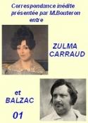 Balzac carraud bouteron: Correspondance inédite