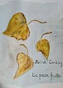 Michel Corday: La petite feuille