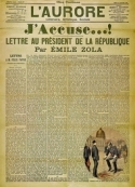émile Zola: j'accuse (affaire dreyfus)