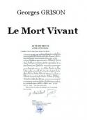 Georges Grison: Le Mort Vivant