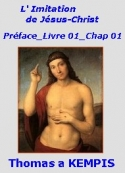 Thomas a Kempis: L'Imitation de Jésus-Christ  00 Préface- 01- 01