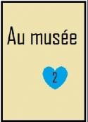 Bleue: Au musée 2