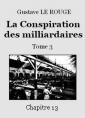 La Conspiration des milliardaires – Tome 3 – Chapitre 13