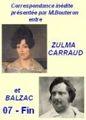 Balzac carraud bouteron: « Correspondance inédite, suite et fin 07 »