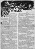 Anonyme: L'Homme qui a tué Hitler