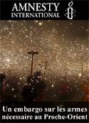Amnesty International: Un embargo sur les armes nécessaire au Proche-Orient