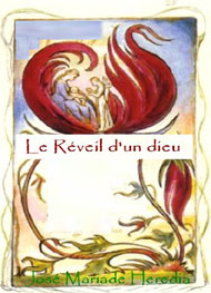 Illustration: Le R�veil d'un Dieu - Jos� Maria de Heredia