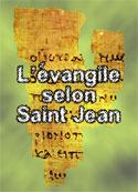 la bible: évangile selon Jean