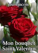 jost vincent: Mon bouquet Saint Valentin