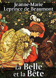 Illustration: La Belle et la Bête - Jeanne-Marie Leprince de Beaumont