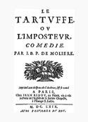 Molière: le Tartuffe