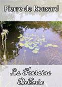 pierre de ronsard: La Fontaine Bellerie