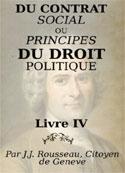 jean-jacques rousseau: Du contrat social Livre4