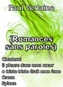 paul verlaine: Romances sans paroles