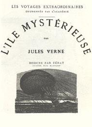 Illustration: L'île mystérieuse - Jules Verne