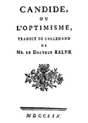 voltaire: Candide ou L'optimisme (version2)