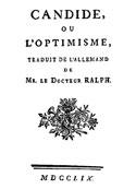 Voltaire: Candide ou L'optimisme (version2)